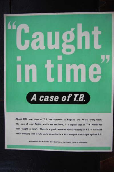 sam kydd in anti tuberculosis ads 1948