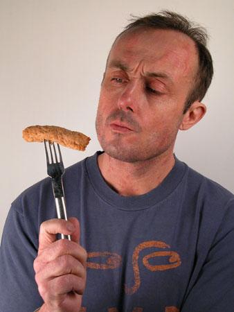 sausage publicity shot