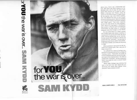 Sam Kydd and his book cover (For You the war is Over) 001